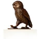 Little Owl II in bronze