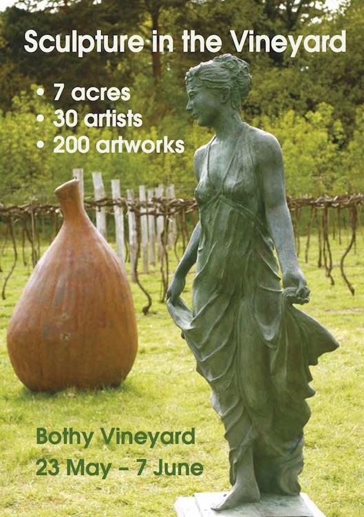 Sculpture in Vineyard flyer